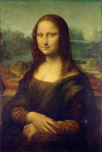 モナリザの写真